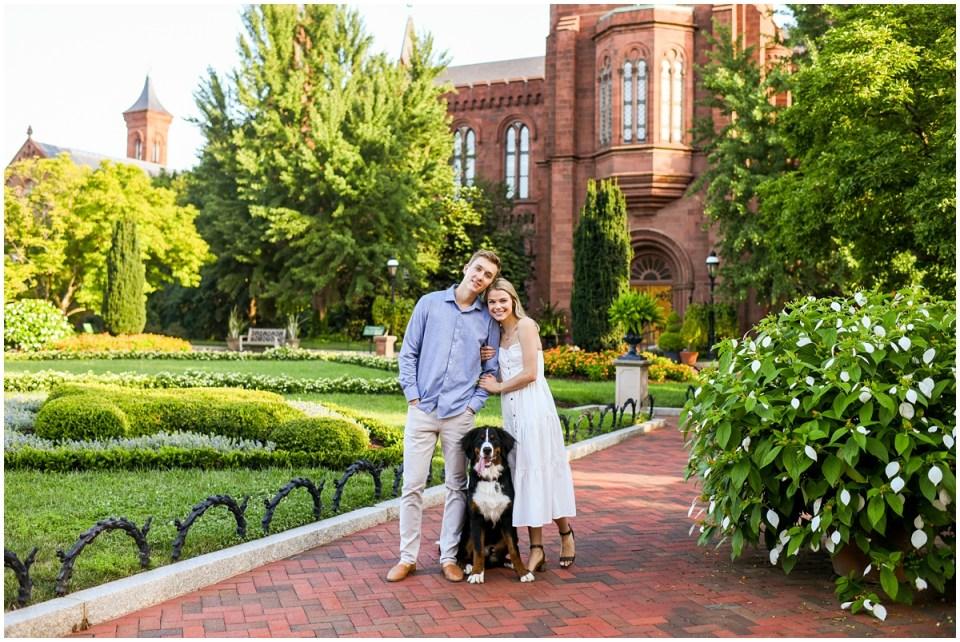 Family photos with dog