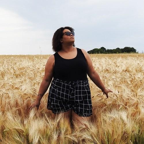 Dans les champs de blés