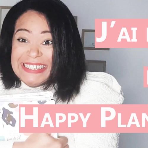 ORGANISATION : Haul et Set up ne mon planner Sping 2021
