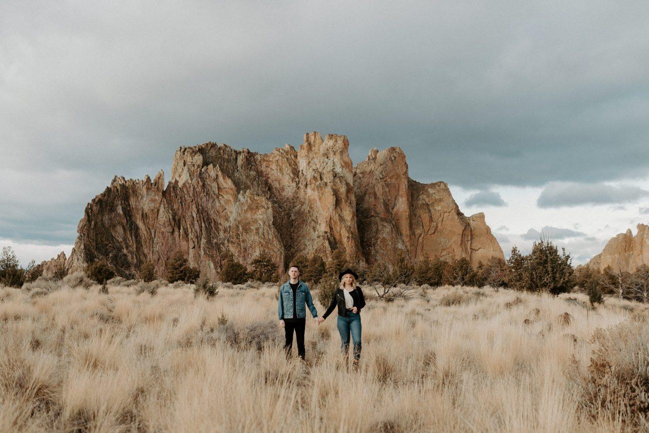 Smith Rock State Park Engagement Session Bend Oregon Wedding Photographer Anais Possamai Photography 40