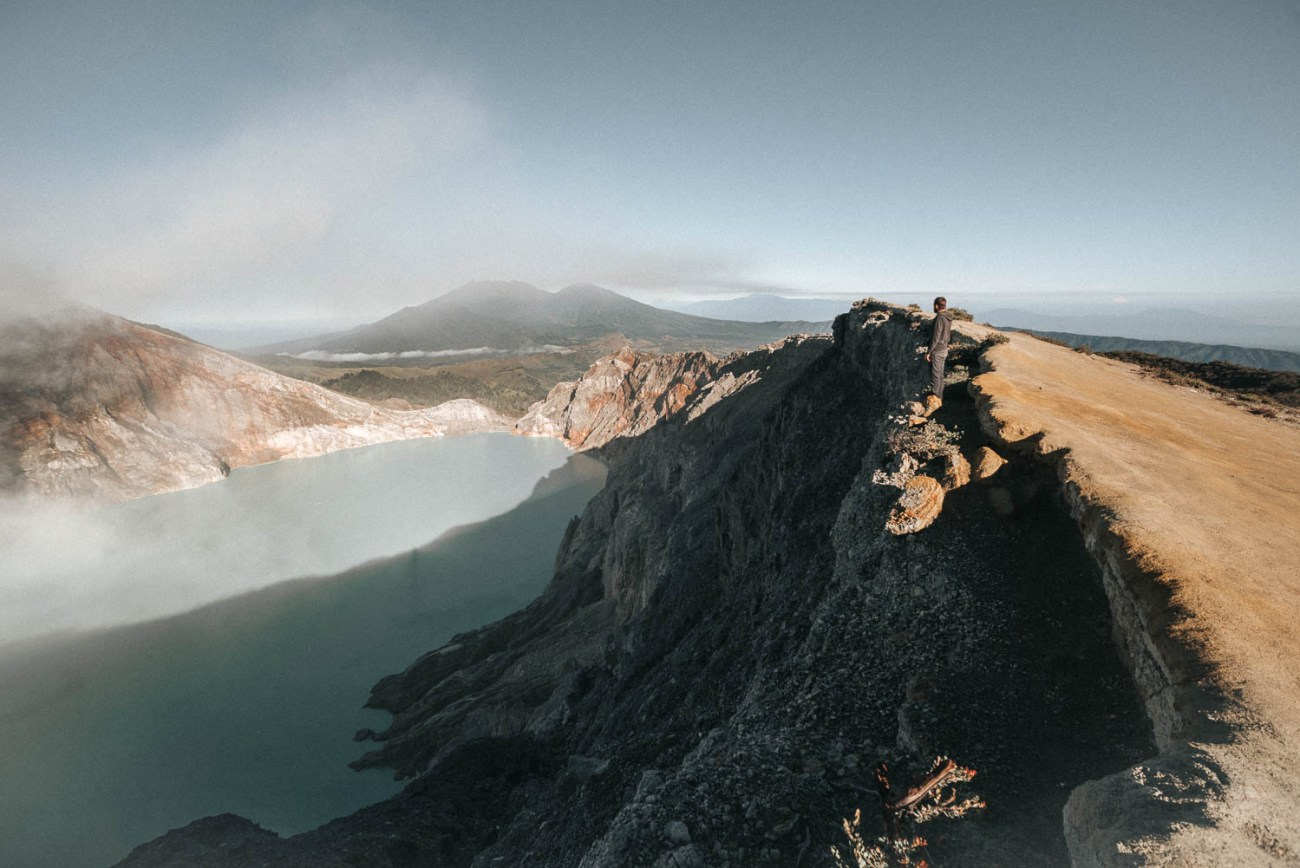 Ijen volcano Java Indonesia