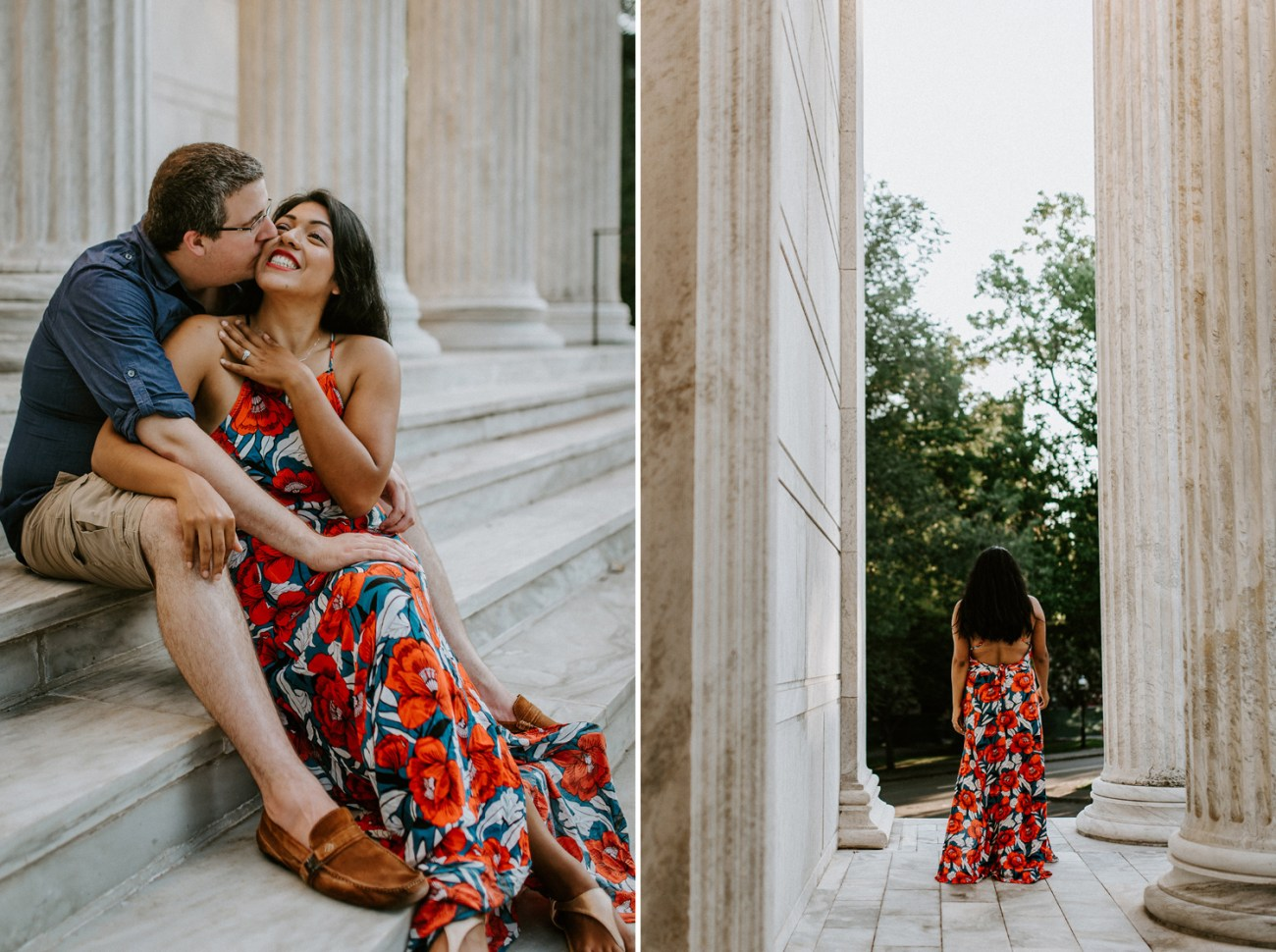 Princeton University Engagement Session Photos, New Jersey Wedding Photographer, Anais Possamai Photography