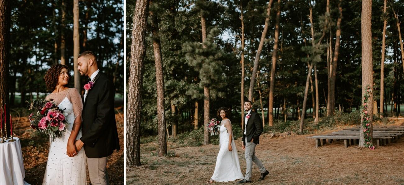 Ceremony site Running Deer Golf Club Wedding Venue