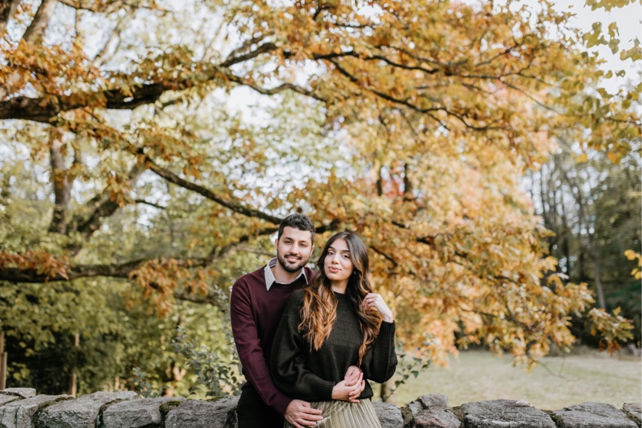 Cross Estate Gardens Couple Session, Fall Cross Estate Gardens Engagement Session in New Jersey, Anais Possamai Photography NJ Wedding Photographer