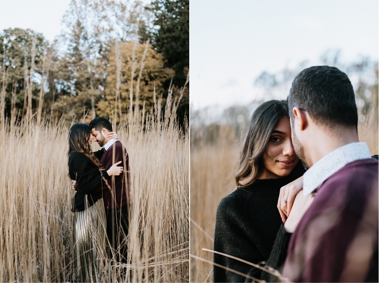 Cross Estate Gardens Engagement photos, New Jersey Wedding Photographer, Fall Engagement photos in New Jersey Anais Possamai Photography