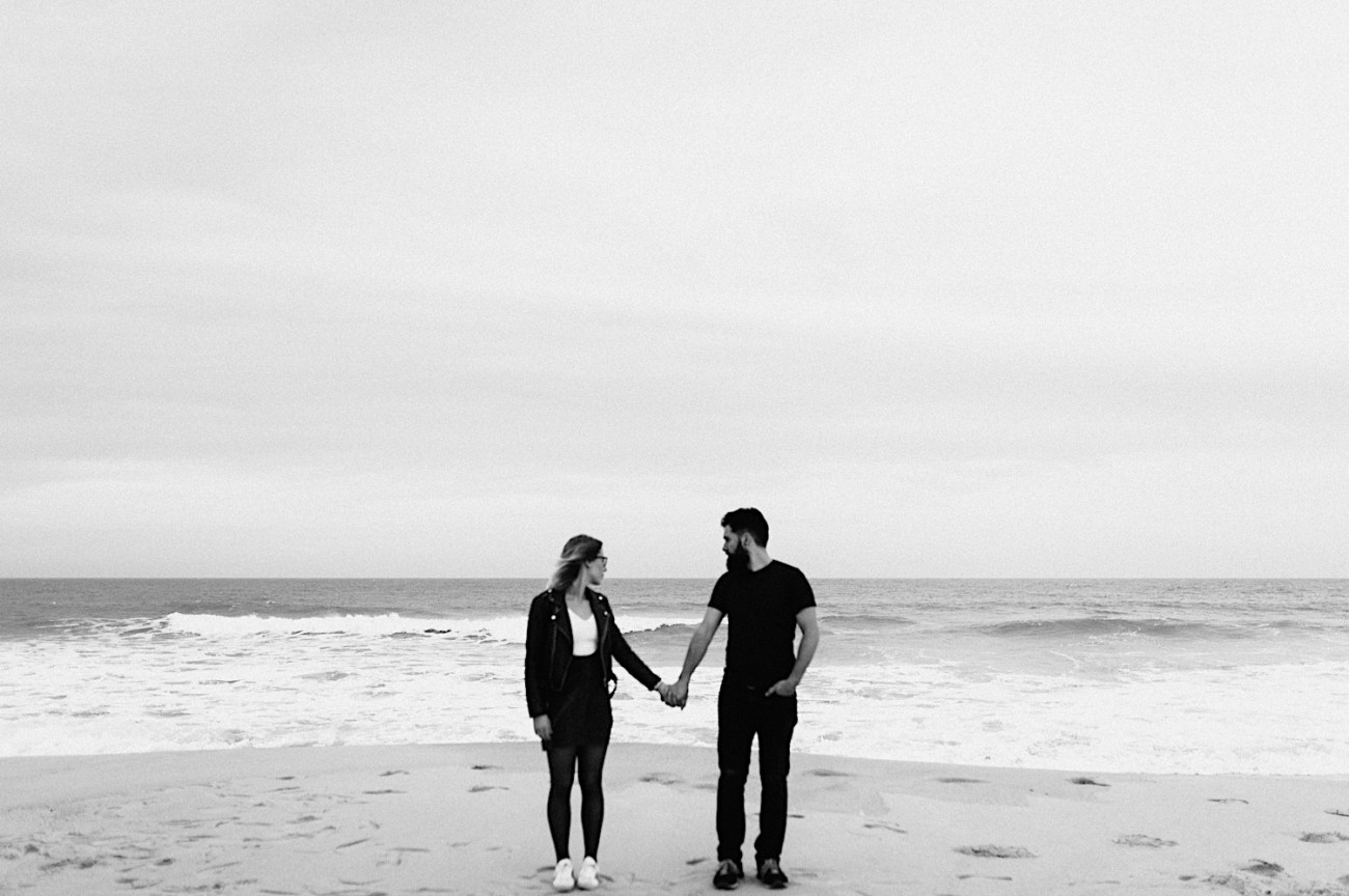 Long Beach New Jersey Engagement NJ Wedding Photographer Beach Engagement Photos 07