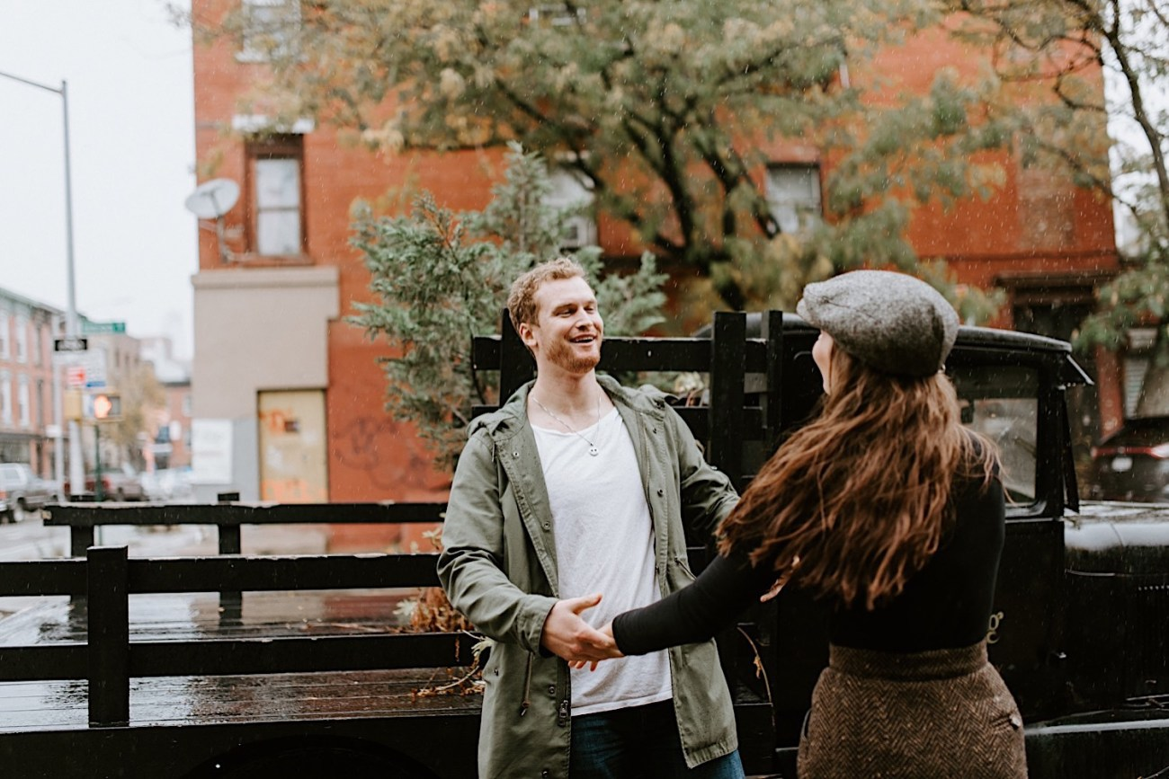 The Green Building Couple Session Brooklyn Wedding Venue NYC Wedding Photographer 16