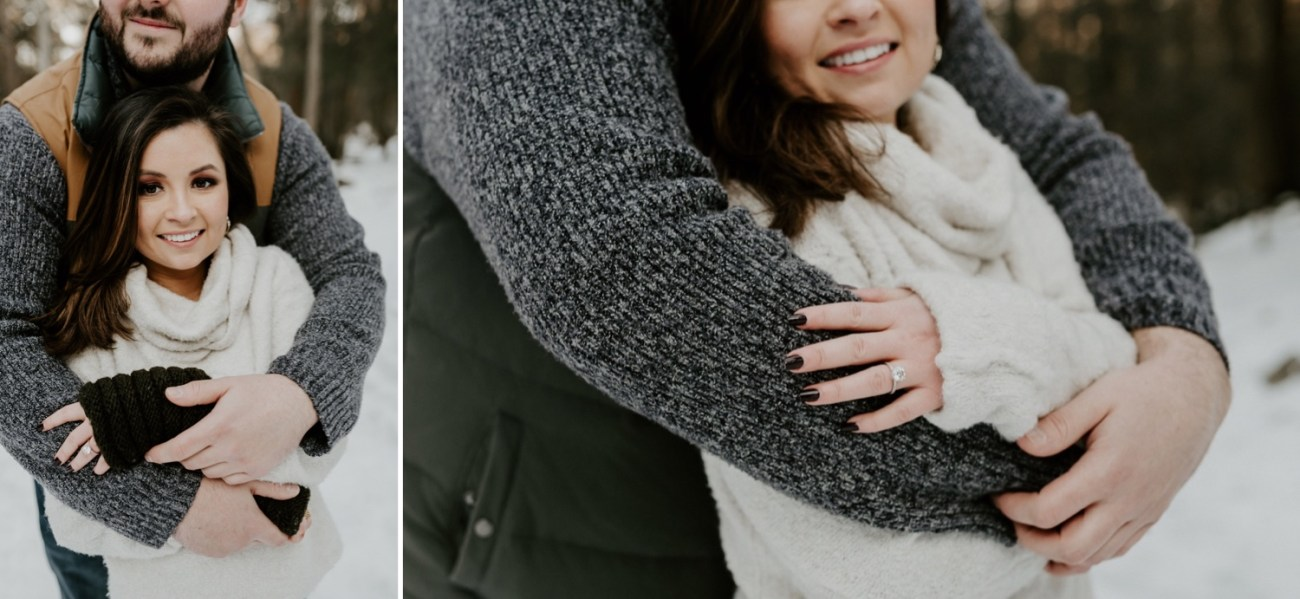 17 Minnewaska State Park Minnewaska Engagement Session Winter Engagement Adventurous Engagement