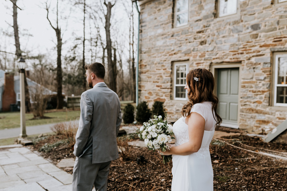 18 The Inn At Glencairn Winter Wedding Inspiration Winter Elopement Princeton Wedding Photographer NJ Wedding Photographer