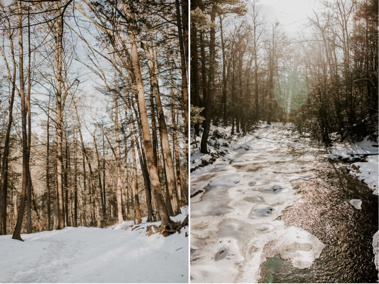 24 Minnewaska State Park Minnewaska Engagement Session Winter Engagement Adventurous Engagement
