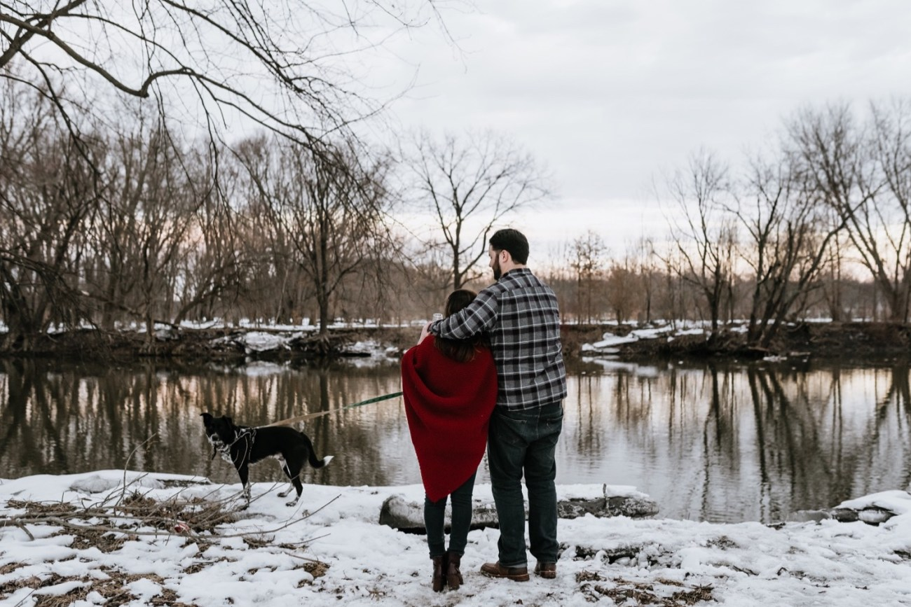 25 Minnewaska State Park Minnewaska Engagement Session Winter Engagement Adventurous Engagement