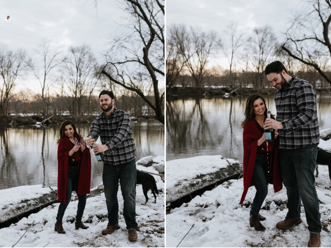 26 Minnewaska State Park Minnewaska Engagement Session Winter Engagement Adventurous Engagement