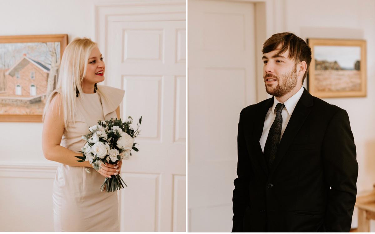 26 Elopement Photographer Winter Elopement Intimate Wedding The Inn At Glencairn Destination Wedding Photographer New Jersey Wedding Photographer