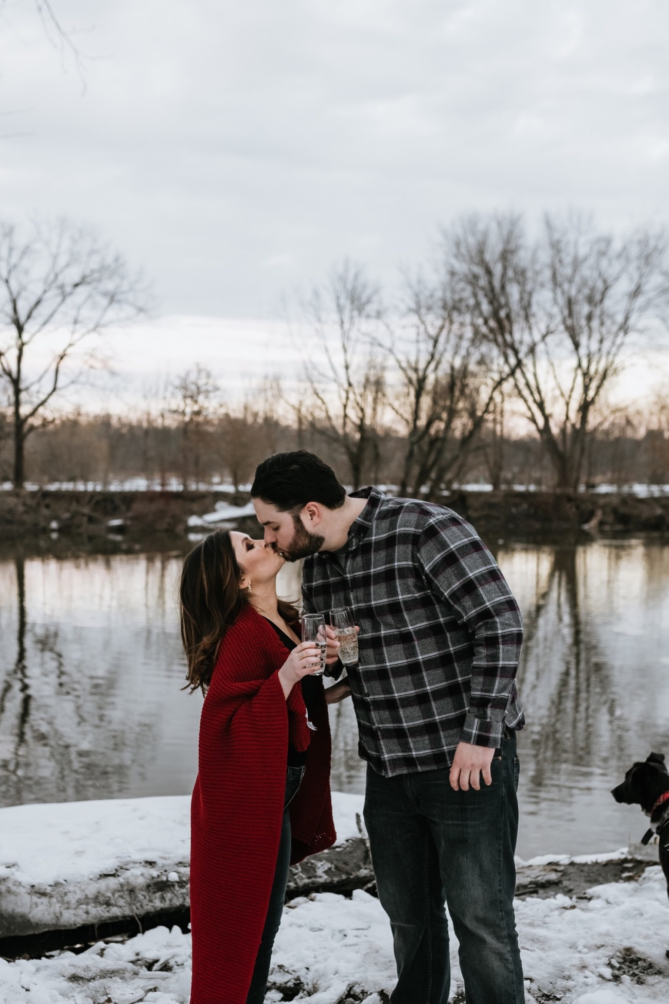 28 Minnewaska State Park Minnewaska Engagement Session Winter Engagement Adventurous Engagement