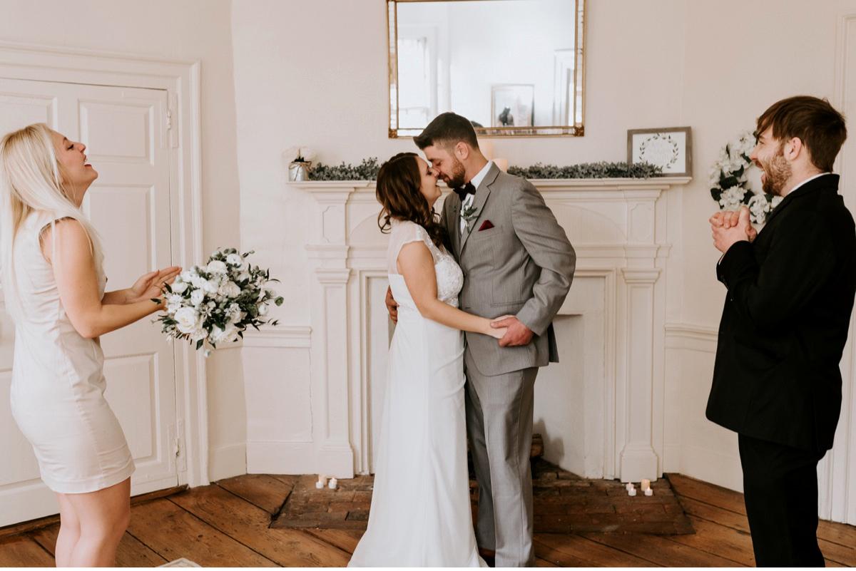 28 The Inn At Glencairn Destination Wedding Photographer Winter Elopement New Jersey Wedding Photographer Intimate Wedding