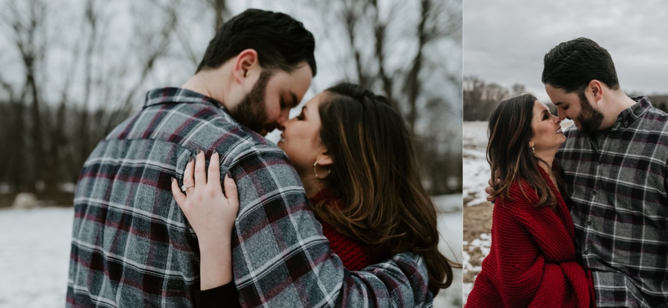 38 Minnewaska State Park Minnewaska Engagement Session Winter Engagement Adventurous Engagement