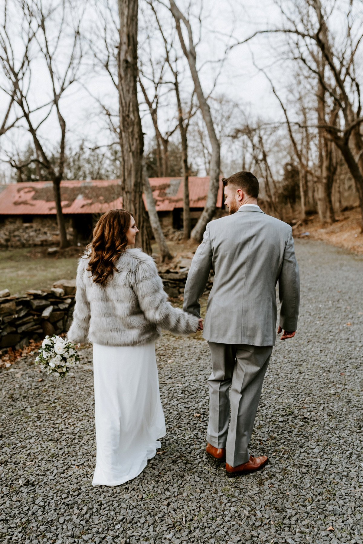 47 The Inn At Glencairn Winter Wedding Inspiration Winter Elopement Princeton Wedding Photographer NJ Wedding Photographer