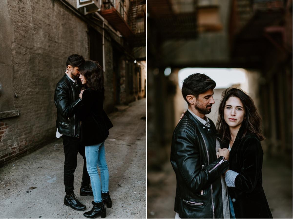 Industrial Brooklyn Engagement Destination Wedding Photographer 07