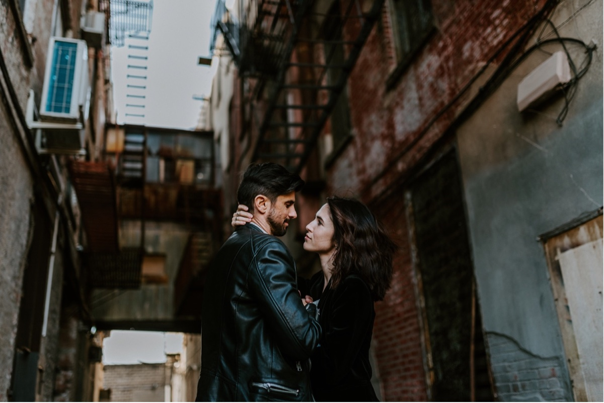 Industrial Brooklyn Engagement Destination Wedding Photographer 13