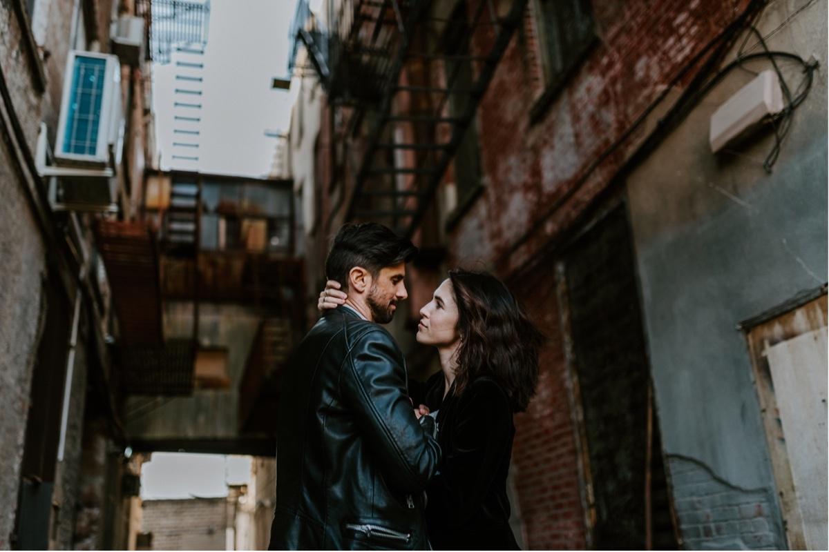 Industrial Brooklyn Engagement Destination Wedding Photographer 13