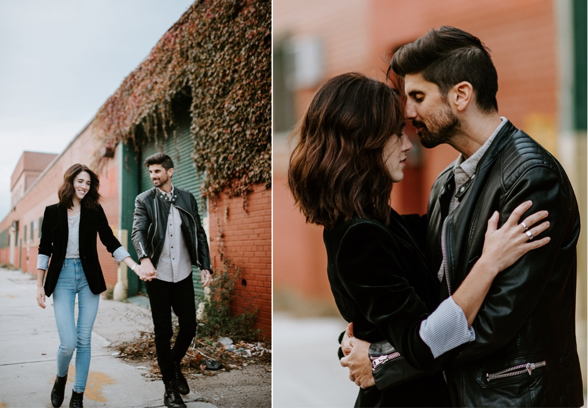Industrial Brooklyn Engagement Destination Wedding Photographer 32