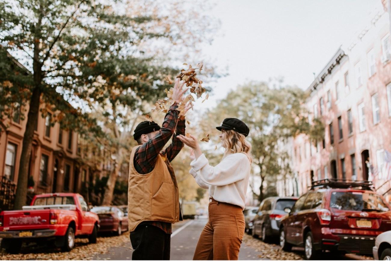 03 Brooklyn Wedding Photographer Brooklyn Engagement Session 501 Union Brooklyn Fall Engagement Session
