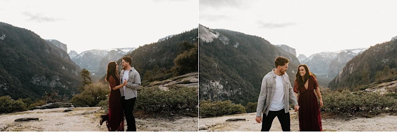 Yosemite National Park Enagement Session California Wedding Photographer 14