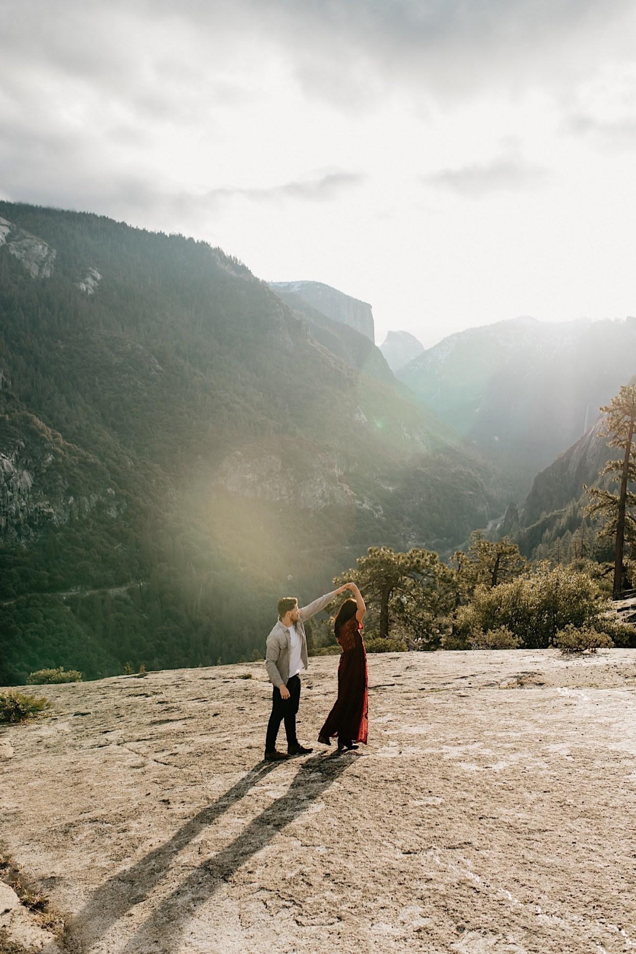 Yosemite National Park Enagement Session California Wedding Photographer 20