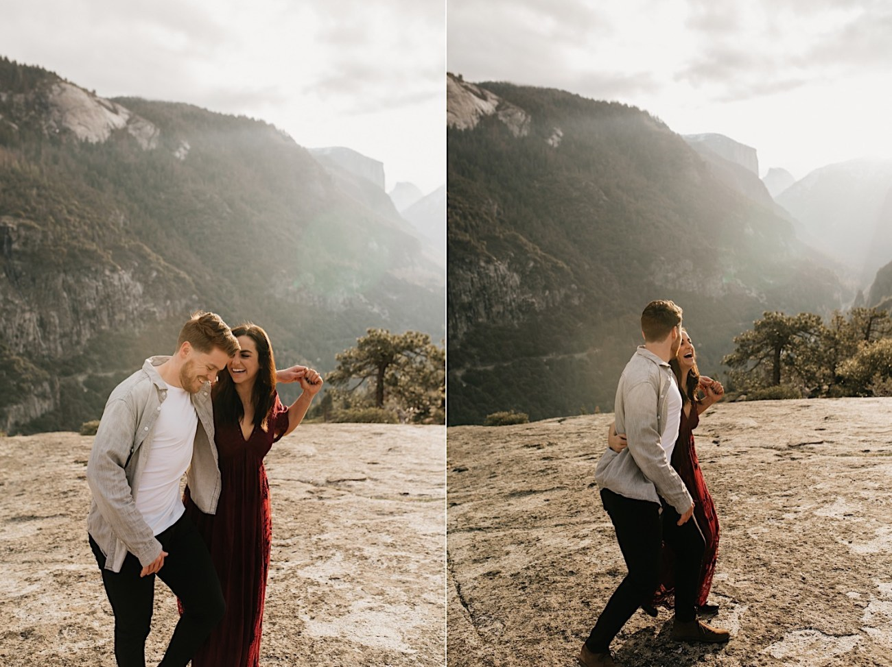 Yosemite National Park Enagement Session California Wedding Photographer 23