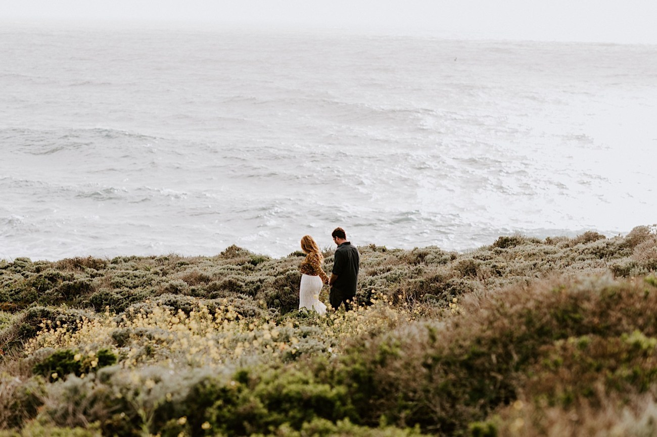 Big Sur California Couple Session San Francisco Wedding Photographer 01