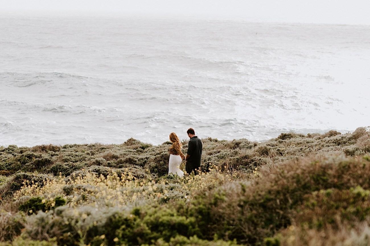 Big Sur California Couple Session San Francisco Wedding Photographer 01