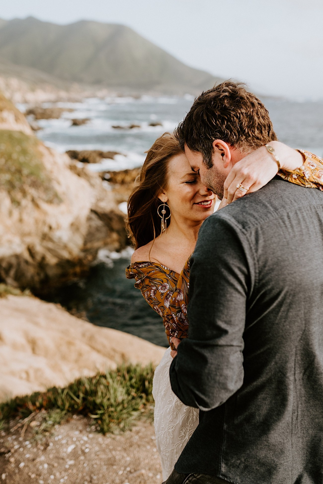 Big Sur California Couple Session San Francisco Wedding Photographer 06