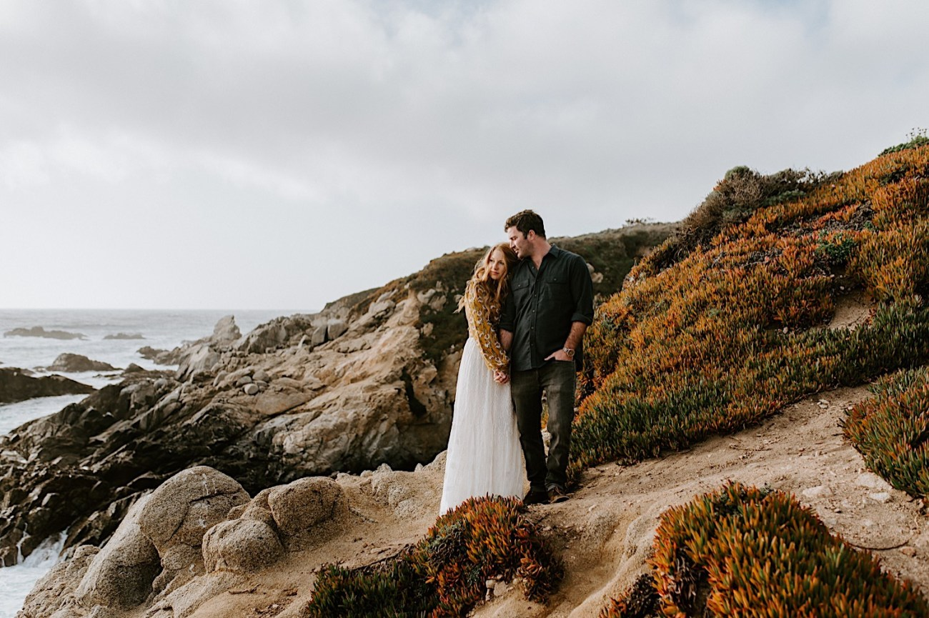Big Sur California Couple Session San Francisco Wedding Photographer 13