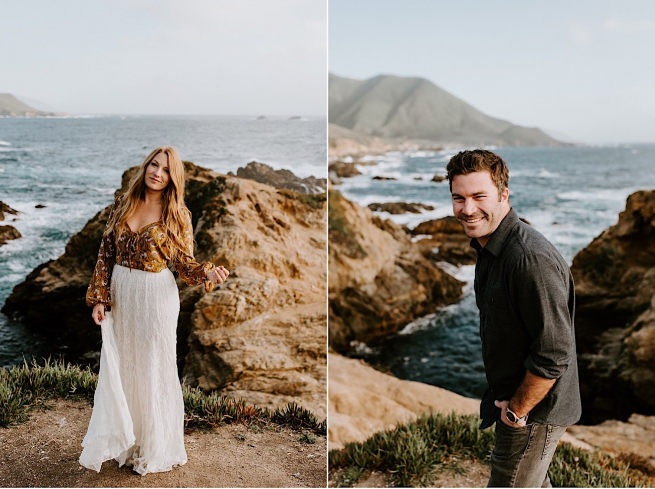Big Sur California Couple Session San Francisco Wedding Photographer 16