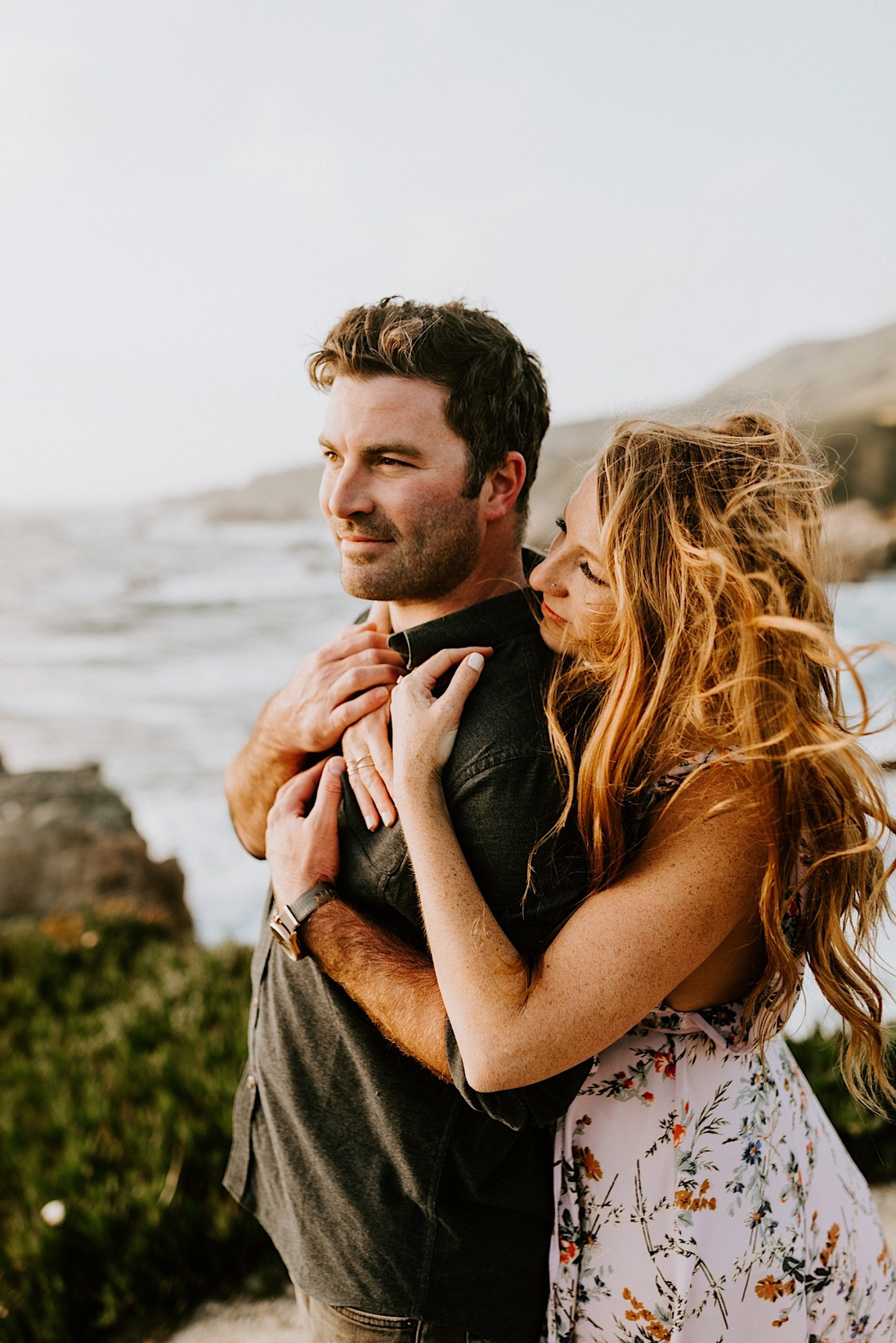 Big Sur California Couple Session San Francisco Wedding Photographer 26