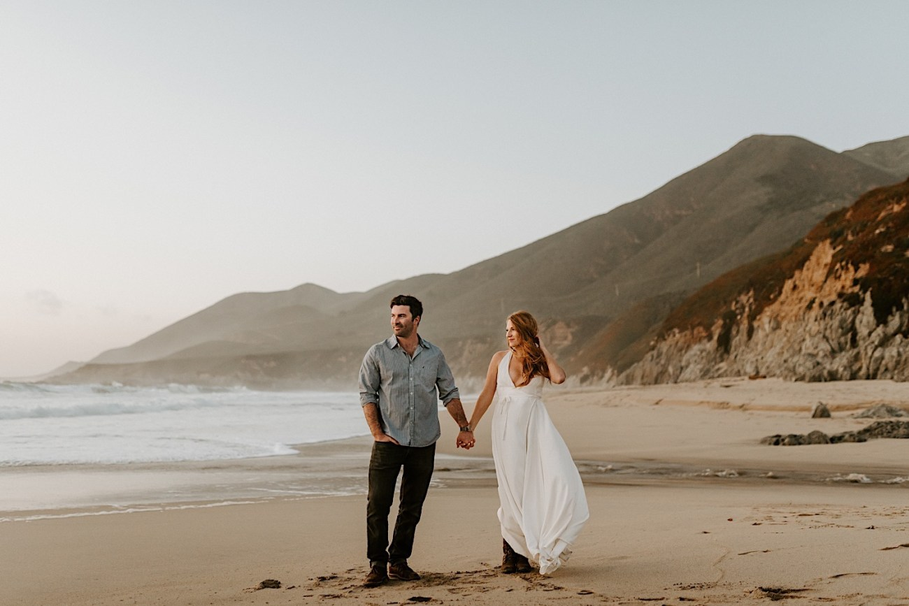 Monterey Wedding Photographer California Coast Enagement Session 26