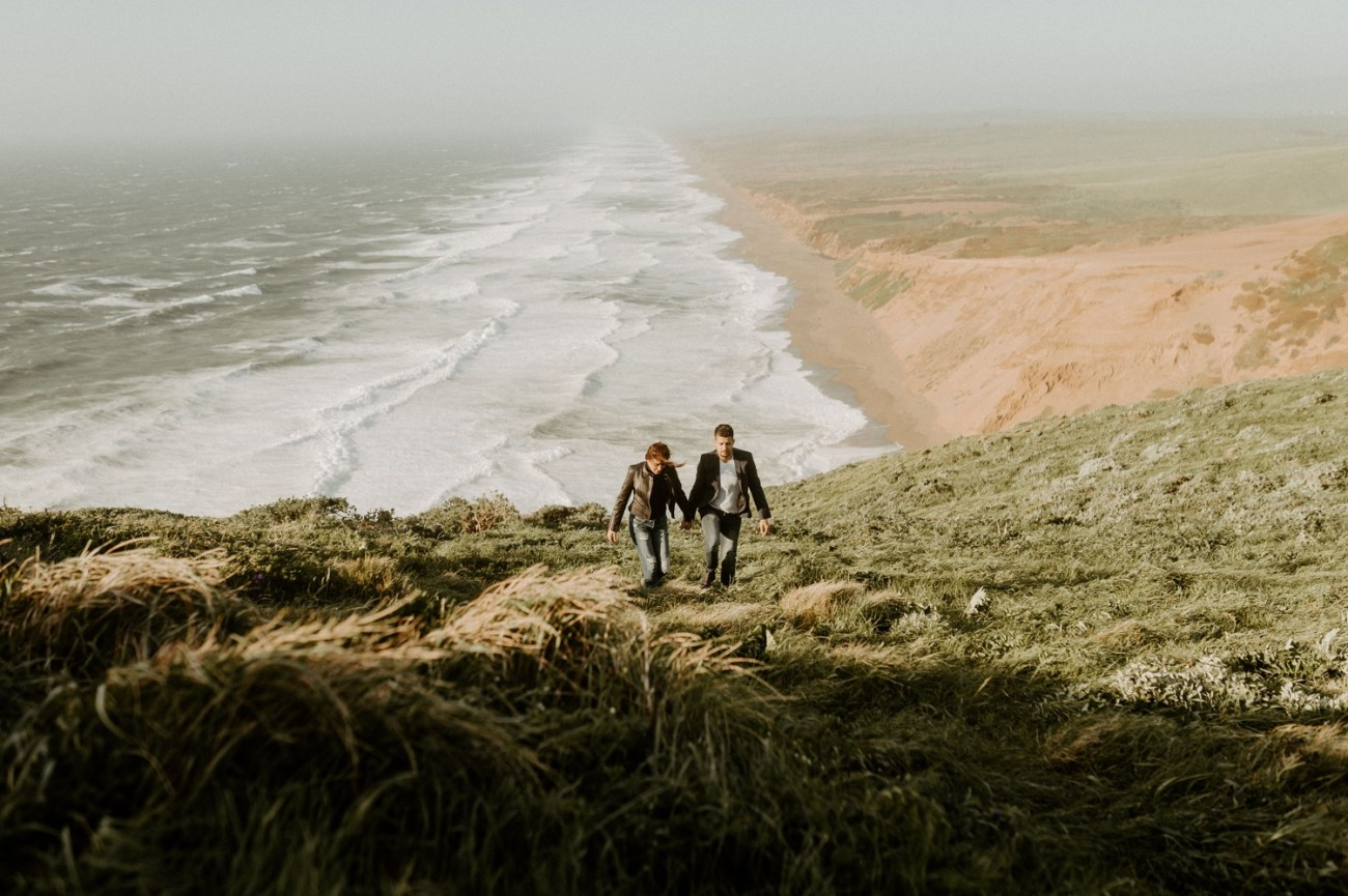 Point Reyes California Engagement Session San Francisco Wedding Photographer Anais Possamai Photography 037
