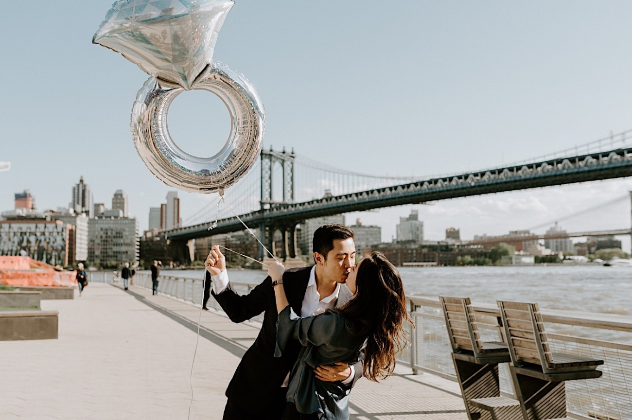 New York City Proposal NYC Wedding Photographer NYC Engagement Photos 35