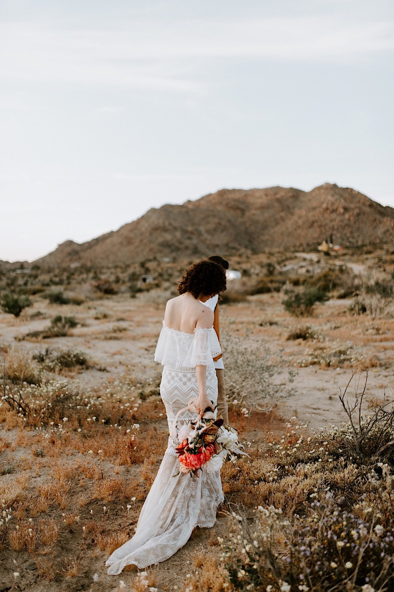 Joshua Tree Same Sex Wedding Joshua Tree Wedding Photographer Palm Springs Wedding Photographer 38