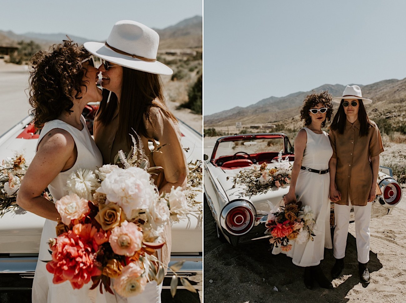 Palm Springs Elopement Los Angeles Elopement Photographer Desert Elopement 31