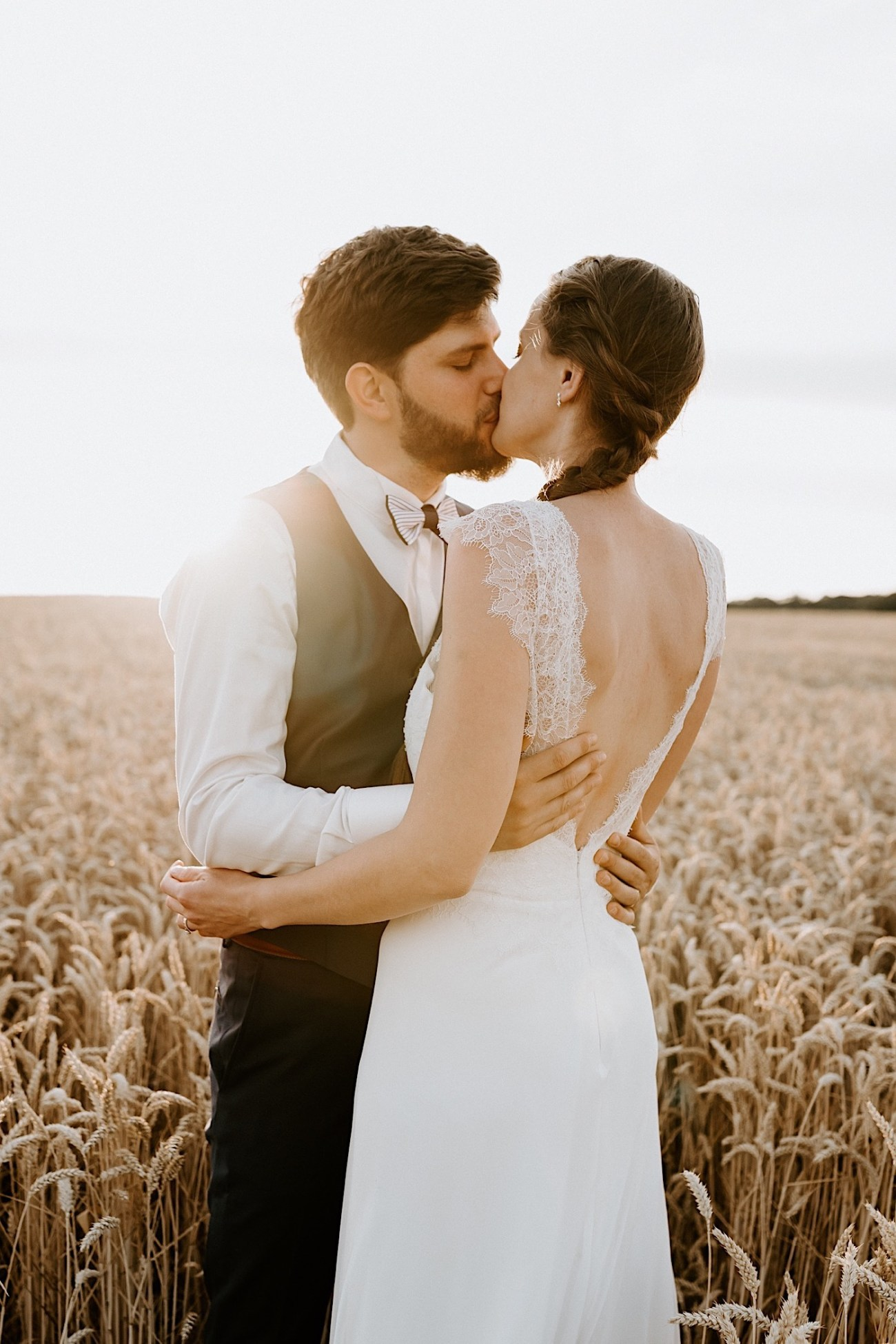 France Wedding Wheat Field Wedding Photos Paris Wedding Photographer 029