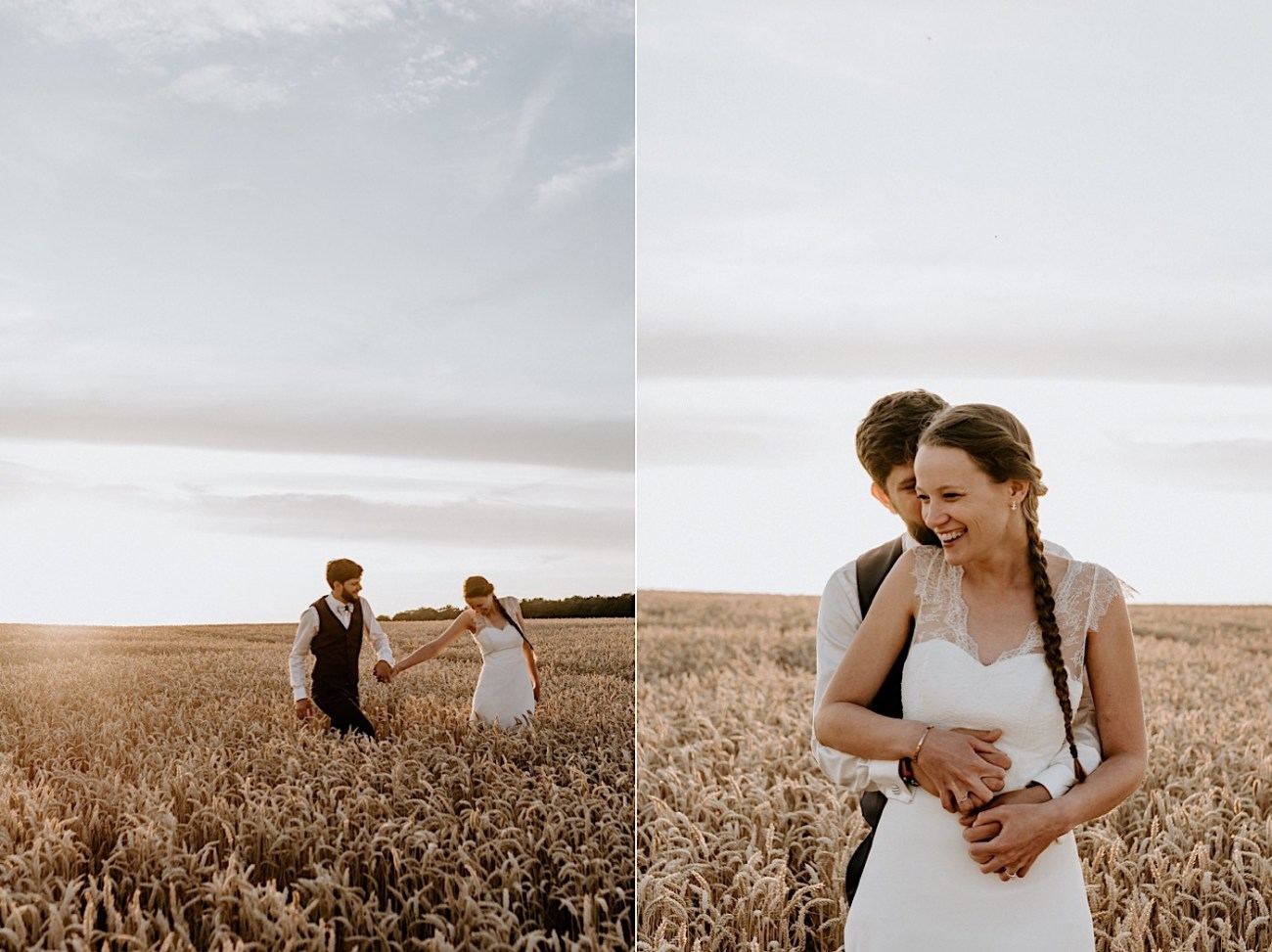 France Wedding Wheat Field Wedding Photos Paris Wedding Photographer 035