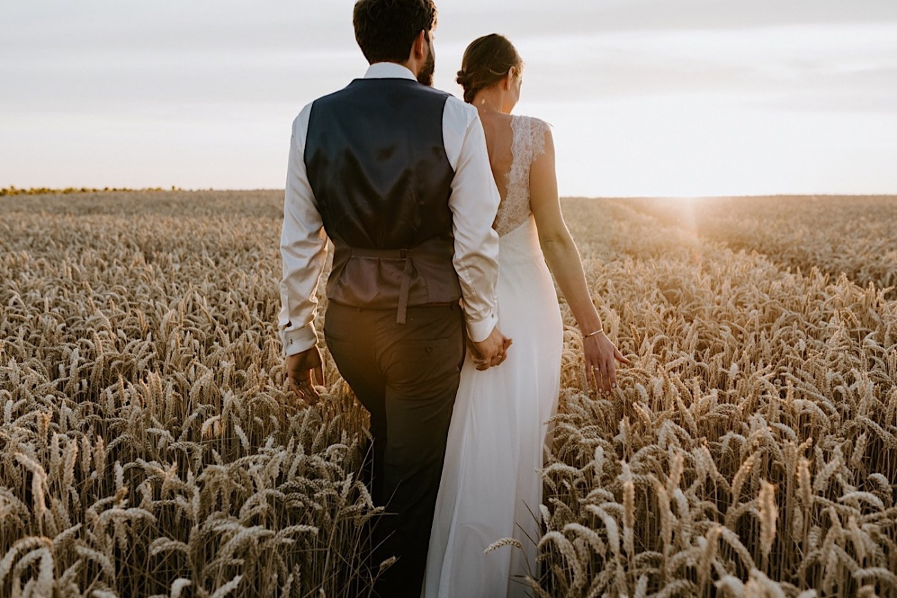 France Wedding Wheat Field Wedding Photos Paris Wedding Photographer 038