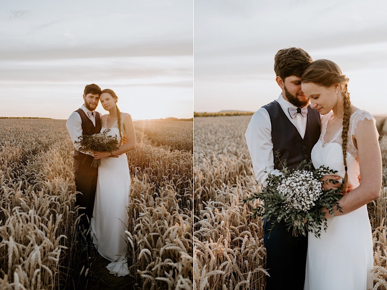 France Wedding Wheat Field Wedding Photos Paris Wedding Photographer 041