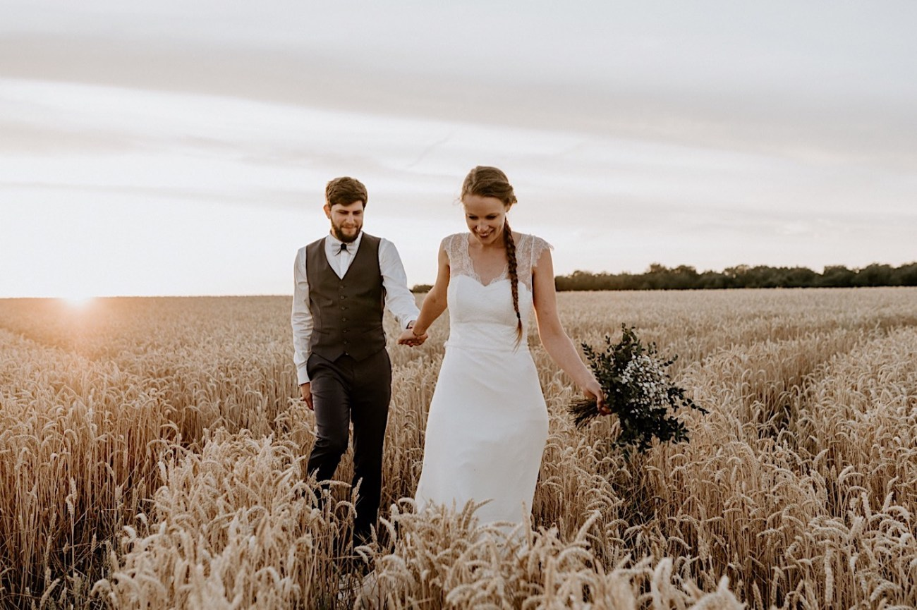 France Wedding Wheat Field Wedding Photos Paris Wedding Photographer 042