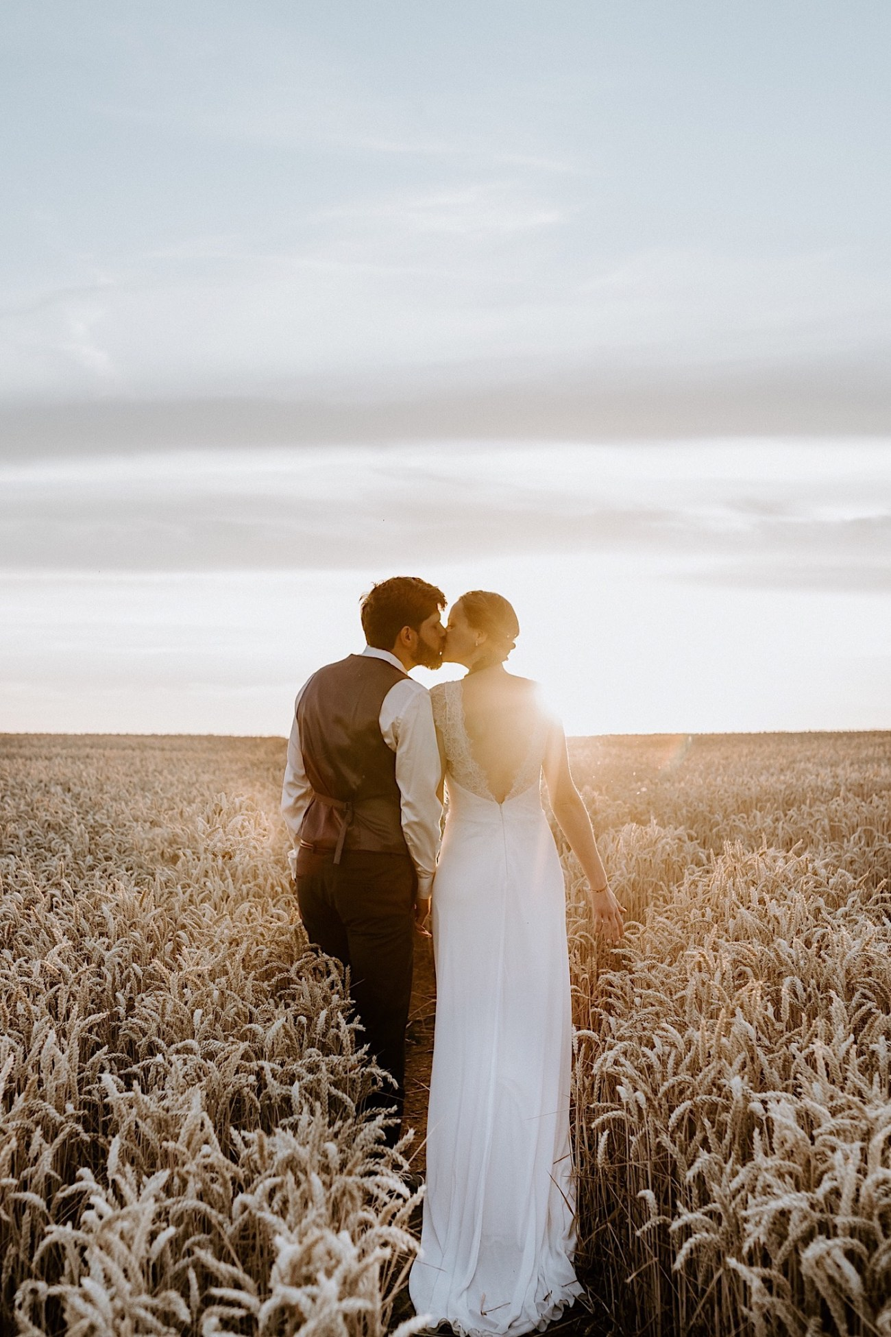 France Wedding Wheat Field Wedding Photos Paris Wedding Photographer 053