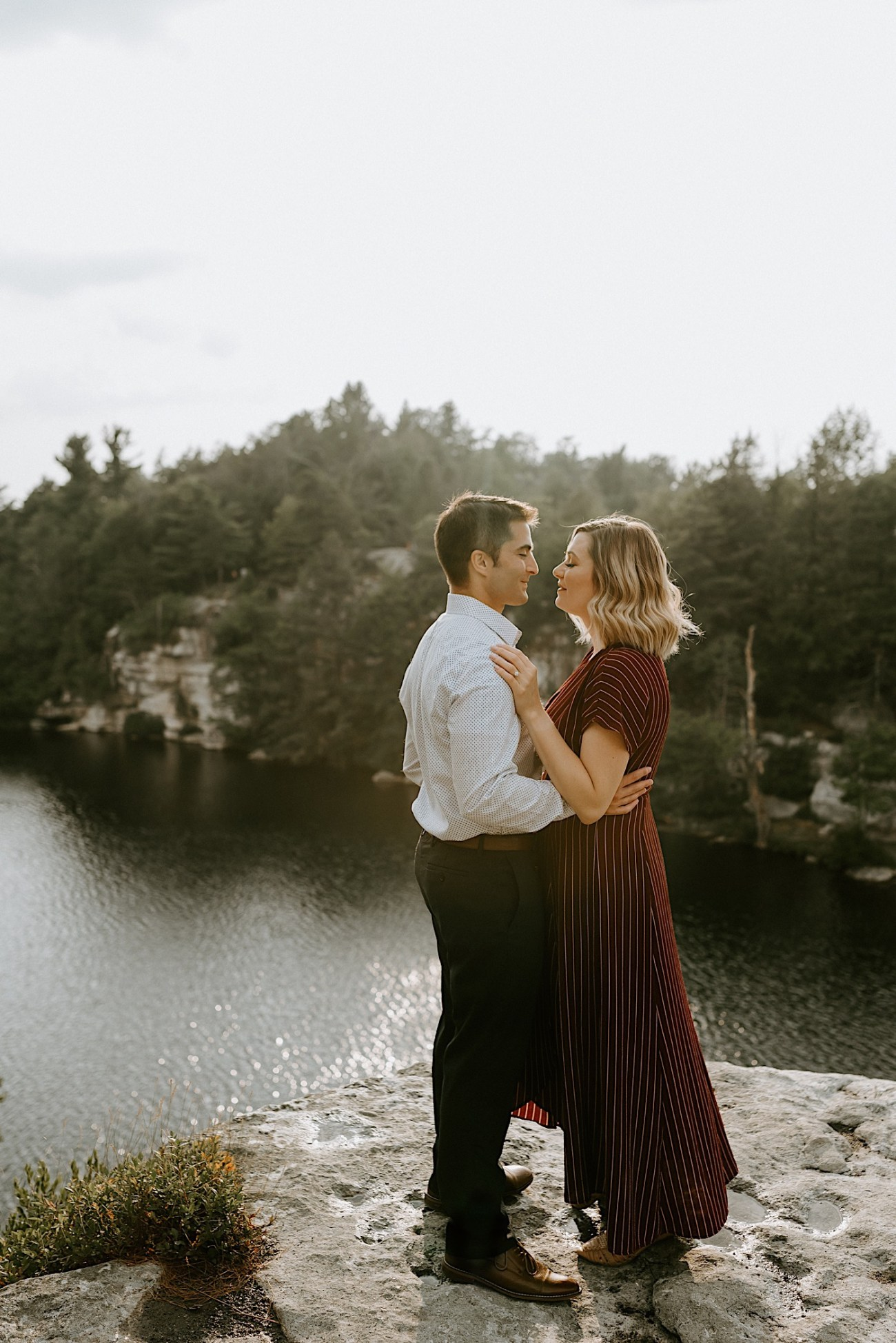 Minnewaska Engagement Session New York Wedding Photographer Hudson Valley Wedding Catskill Weddingphotographer 03