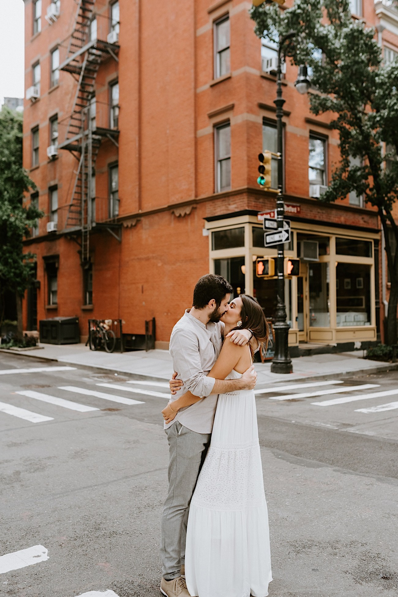 Greenwich Village Couple Session Manhattan Engagement Session New York Wedding Photographer 03