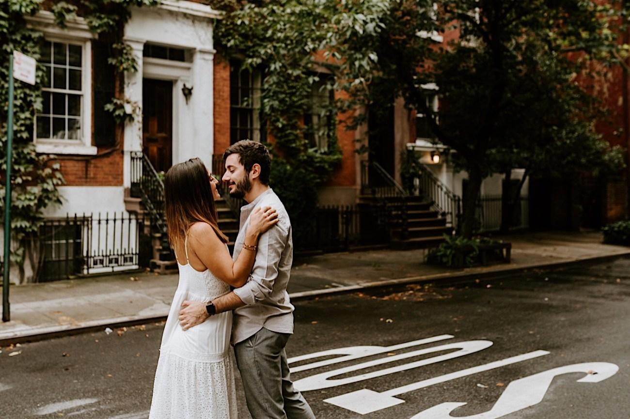 Greenwich Village Engagement Photos Manhattan Engagement Session New York Wedding Photographer 03