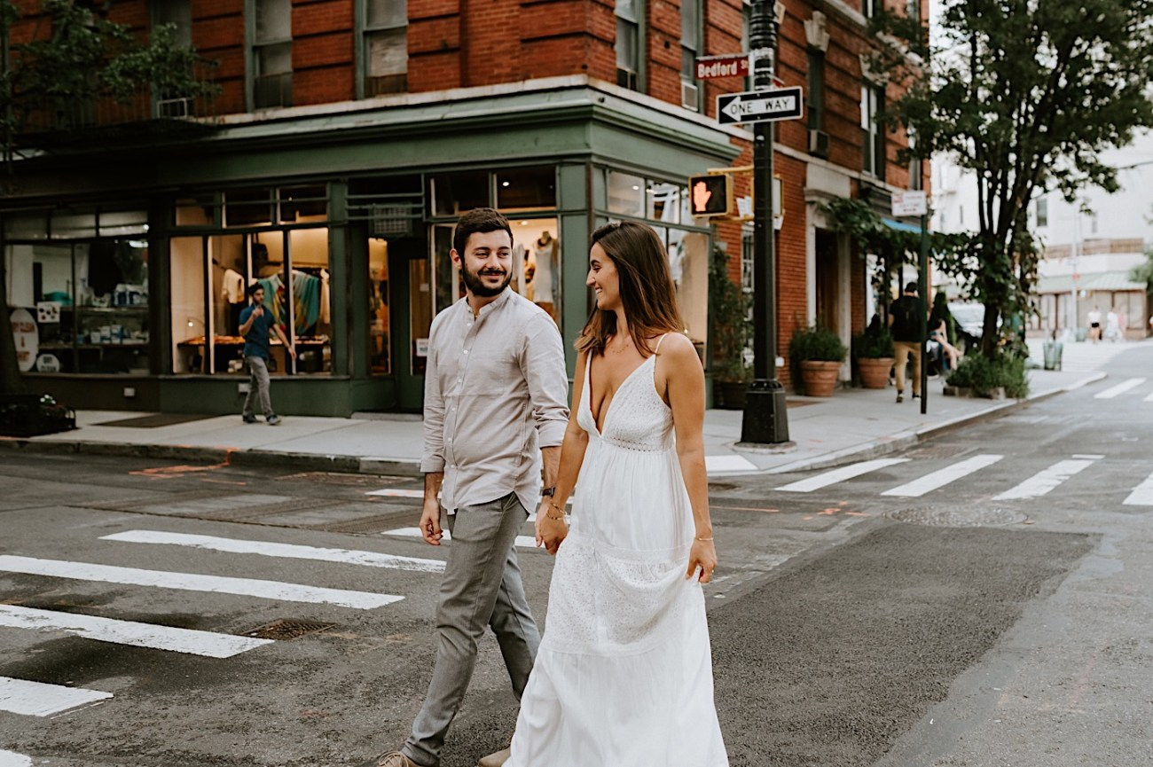 Greenwich Village Engagement Photos Manhattan Engagement Session New York Wedding Photographer 24